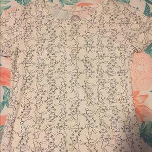 Grateful Dead bear print T-shirt